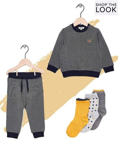 Superleuk in combinatie met het bijpassende sweatertje!